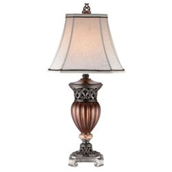 32 Inch H Roman Bronze Collection- Decorative Table Lamp by O.R.E. Image