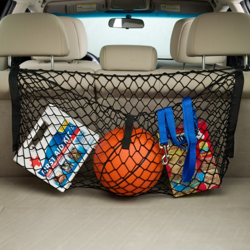 Vehicle Cargo Nets : Vehicle cargo net in trunk organizers