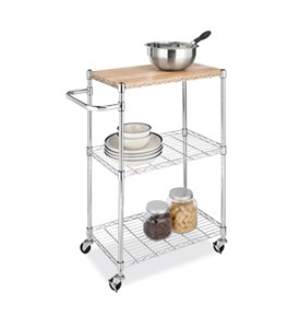 Rolling Kitchen Island Cart Image