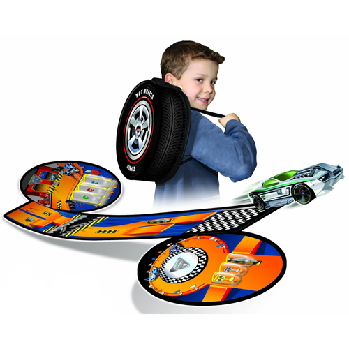 Wheelie Track Pack Hot Wheels Case Image