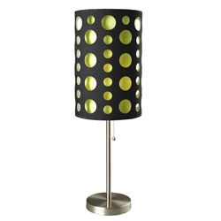 33 Inch H Modern Retro Table Lamp by O.R.E. Image