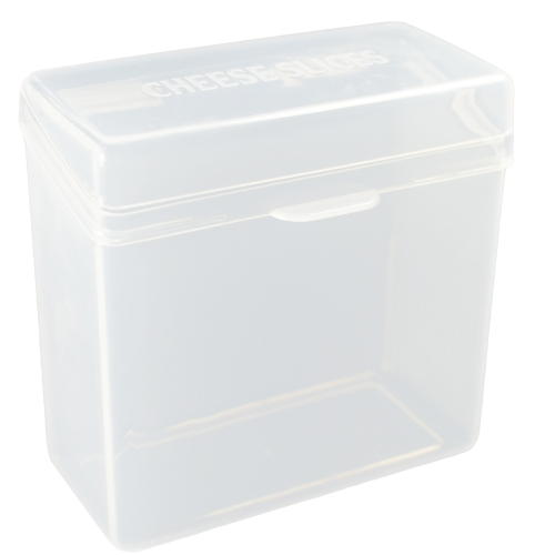 Cheese Slice Container In Plastic Food Containers
