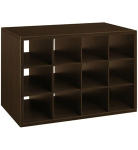 freedomRail Big O-Box Cubby Unit - Chocolate Pear Image