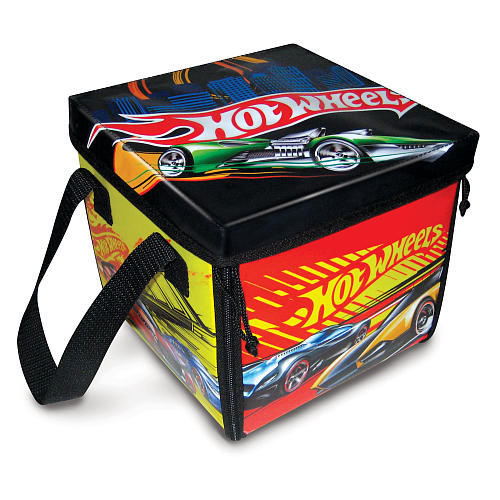 Hot Wheels TM Zip Bin Image