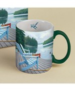 Lakeside Retreat Ceramic Mug