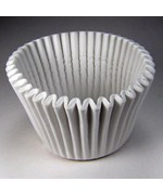 Large White Baking Cups