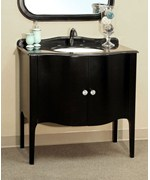 36.6 Inch Single Sink Apron Front Vanity by Bellaterra Home