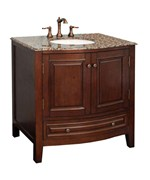 36 Inch Traditional Wood Sink Vanity