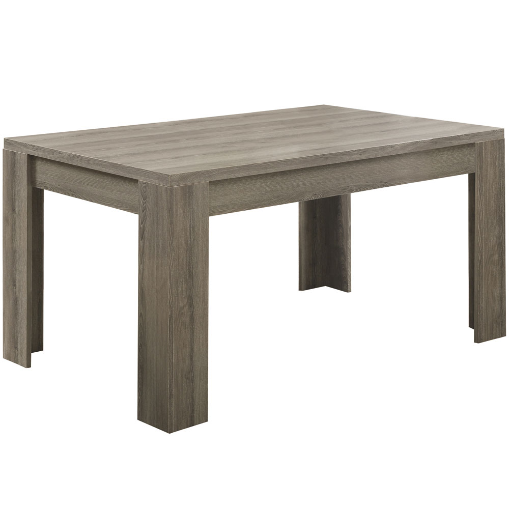 36 x 60 reclaimed wood dining table in dining tables