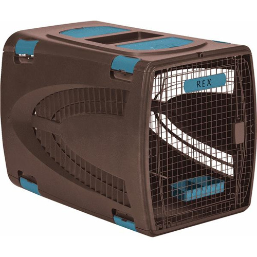 Extra-Large Pet Carrier - Brown Image