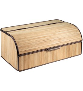 Large Bamboo Bread Box Image