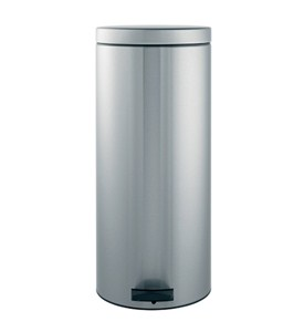 Brabantia Pedal Bin - 30L Smudge Proof Matt Steel Image