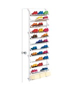 36 Pair Over Door Shoe Rack