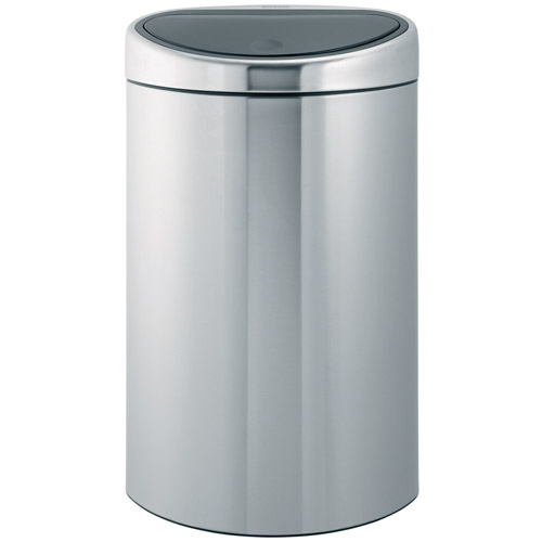 Brabantia Touch Bin 40l Smudge Proof Matte In