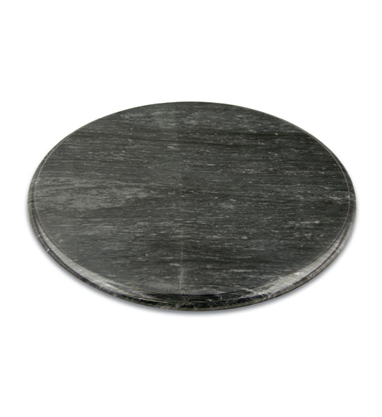 Black Marble Lazy Susan Turntable Image