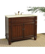 39 Inch Bathroom Vanity with Marble Top by Legion