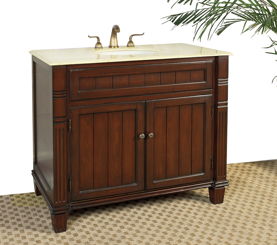 39 Inch Bathroom Vanity With Marble Top By Legion Price: $899.99
