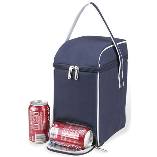 Soda Can Cooler ~ Soda can cooler navy in storage