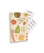 Mini Coupon Organizer - Fruit and Flowers