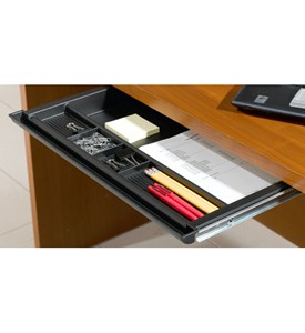 Pull-Out Desk Pencil Drawer Image