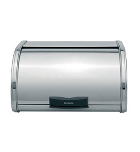 Storage Touch Brilliant Steel Bread Box - Medium Image