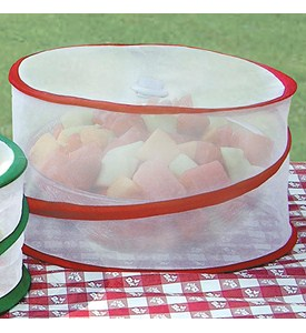 Collapsible Mesh Food Covers (Set of 3) Image