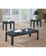 3PC OCCASIONAL TABLE SET BY MONARCH SPECIALTIES