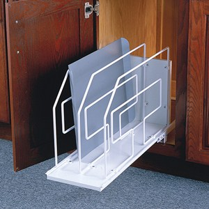 Roll-Out Tray Divider and Storage Rack - 9 Inch Image