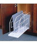 Roll-Out Tray Divider and Storage Rack - 9 Inch