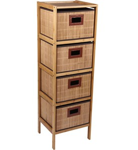 4 Drawer Storage Tower Image