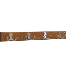 4 Hook Coat Rack Image