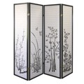 4 Panel Floral Room Divider by ORE International