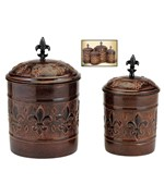4 Piece Canister Set