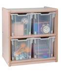 4 Section Cubby Storage Unit