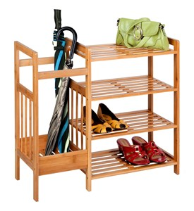 4 Shelf Shoe Rack - Umbrella Stand Image