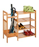 4 Shelf Shoe Rack - Umbrella Stand
