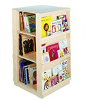 4 Sided Library Display Unit