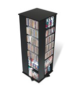 4-Sided Spinning Multimedia Tower