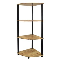 4-Tier Corner Bookshelf by O.R.E. Image