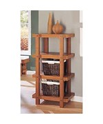 4 Tier Shelf - Display Books and Collectibles