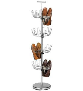 Four-Tier Shoe Tree - Satin Nickel Image