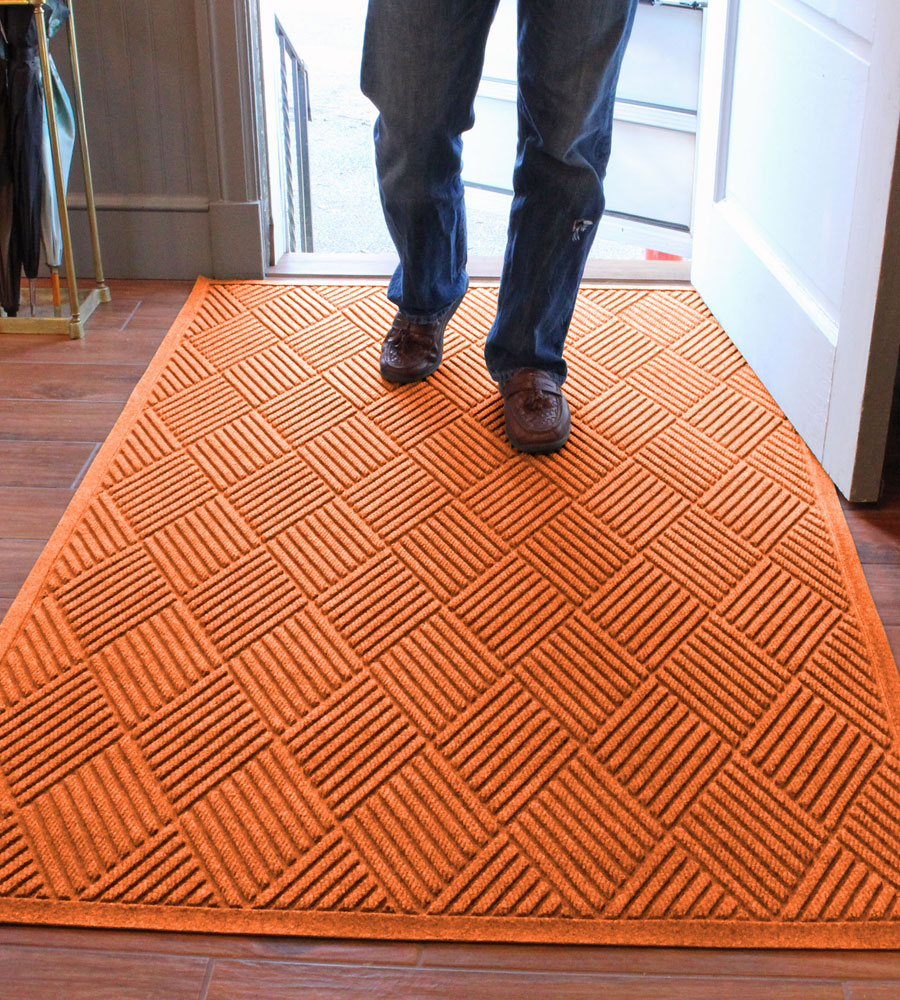 4 X 6 Entrance Mat Diamonds In Entryway Rugs