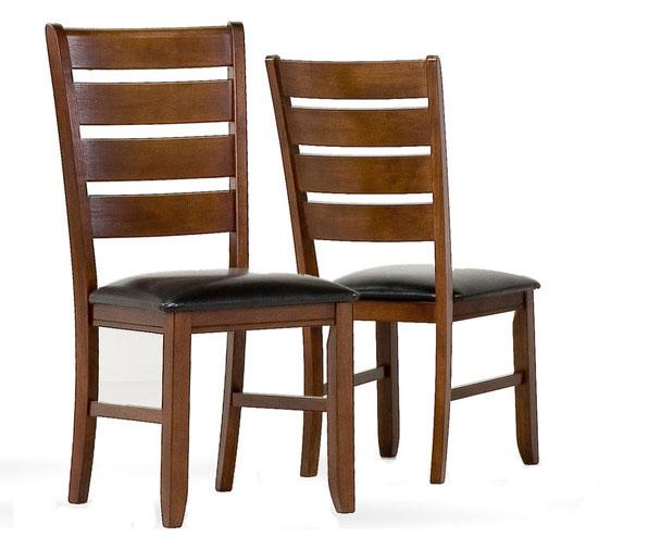 40 inch dark oak dining chairs set of 2 price