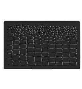 Black Flip Case Card Holder Image