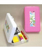 Plastic School Supplies Box