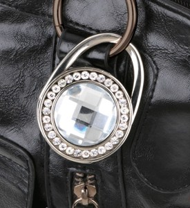 3 in 1 Jewelled Purse Hook Image