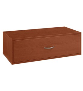 Double Hang One-Drawer Big O-Box - Cherry Image