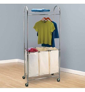 Laundry Cart and Sorter Image