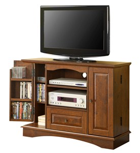 42 Inch Wood TV Stand with Media Storage by Walker Edison Image