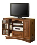 42 Inch Wood TV Stand with Media Storage by Walker Edison